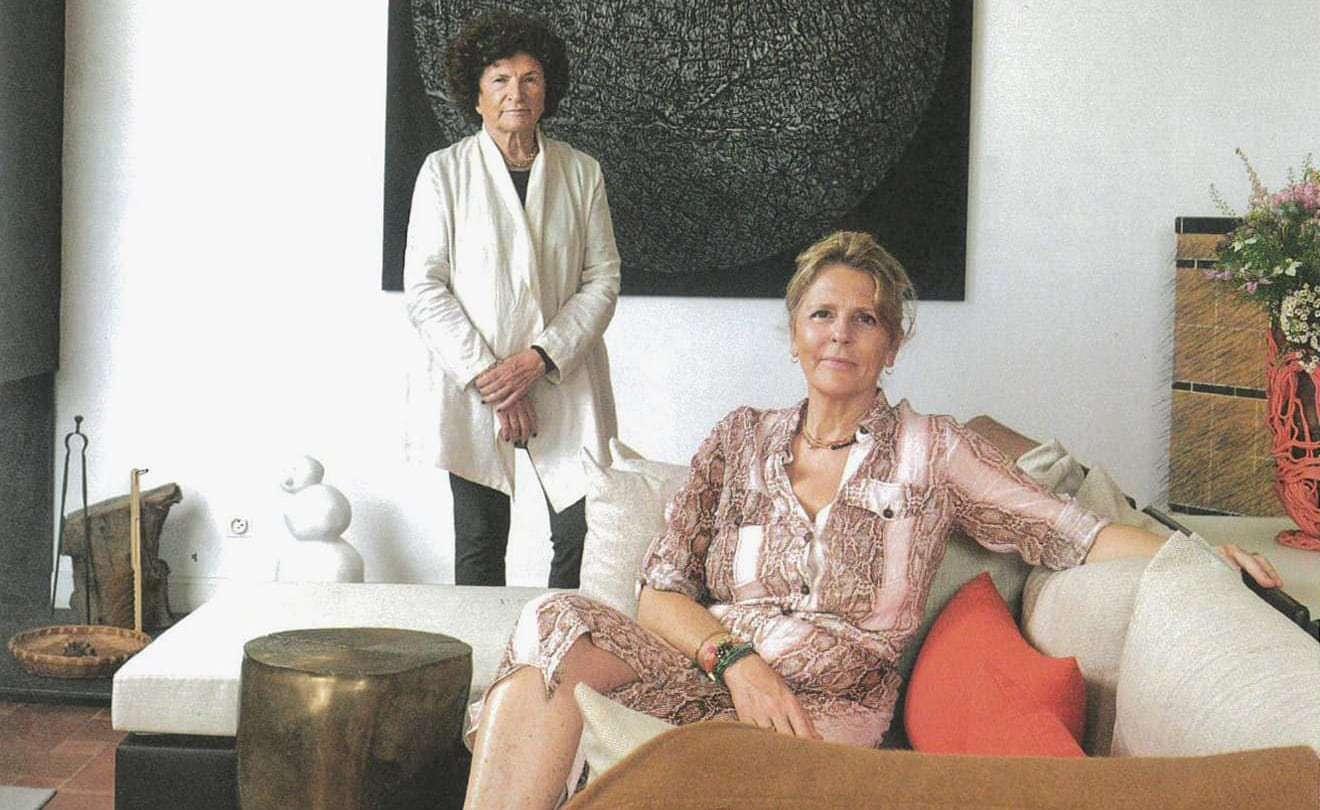 Hôtel La Figuiere : Monique et Cécile CHAIX